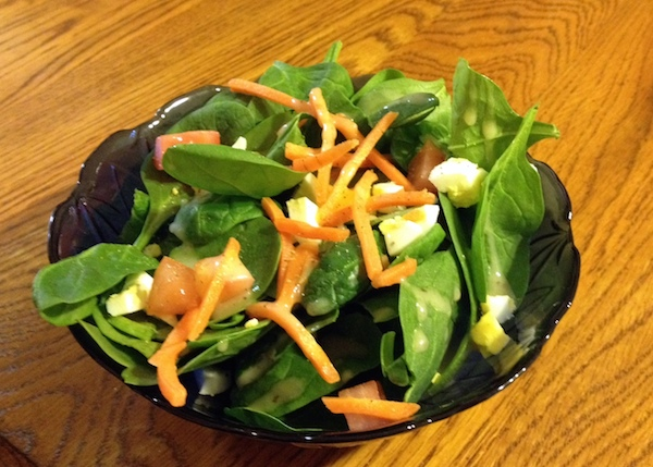 salad - advocare 24 day challenge day 15 - amerrylife.com