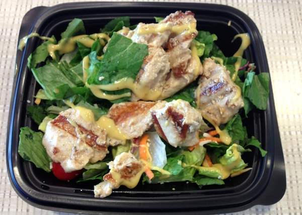 salad for lunch - advocare 24 day challenge day 22