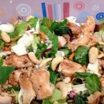 salad with chicken and cashews - advocare 24 day challenge food