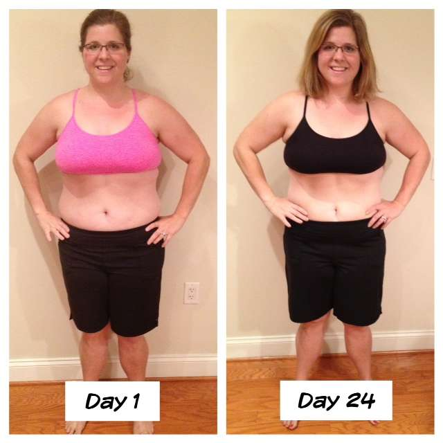 advocare 24 day challenge results - coffee cake and cardio