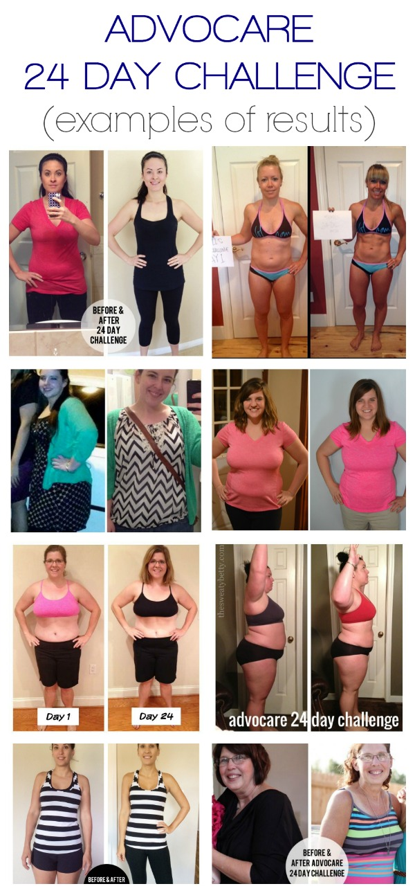 More Advocare 24 Day Challenge Results A Merry Life
