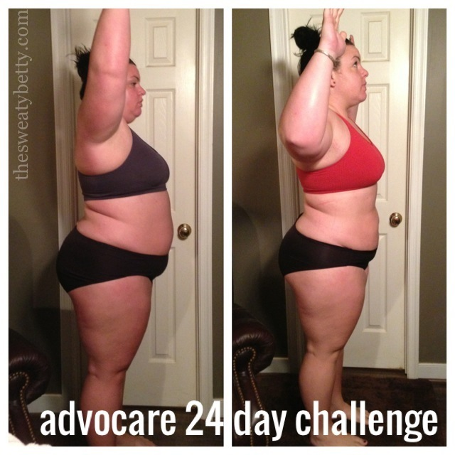 advocare 24 day challenge results - sweaty better