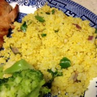 Lemon & Cilantro Couscous with Red Onion