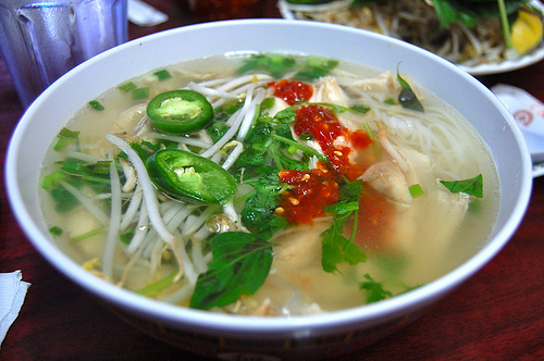 vietnamese restaurant - soup