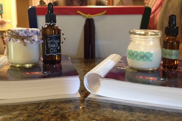 essential oils using items