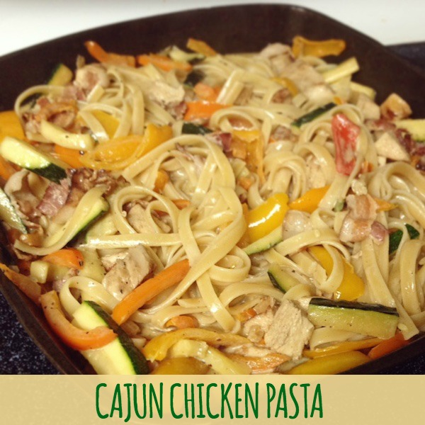 Cajun Chicken Pasta Recipe - amerrylife.com