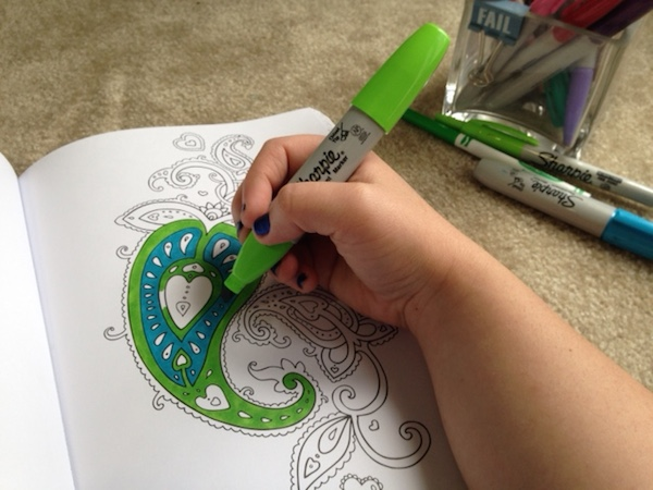 Adult Coloring Books | A Merry Life