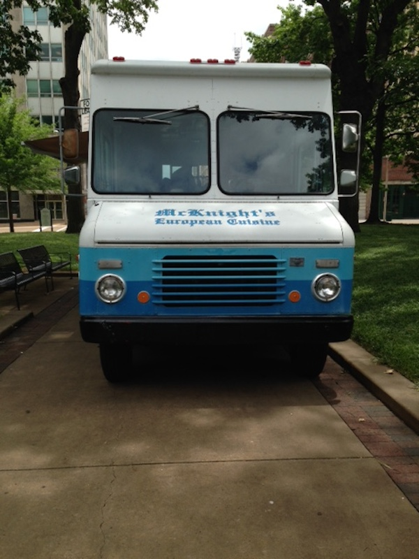 mcknights european cuisine - memphis tn food truck