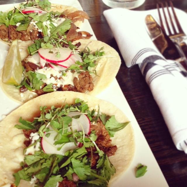 Memphis Eats - Agave Maria tacos asada