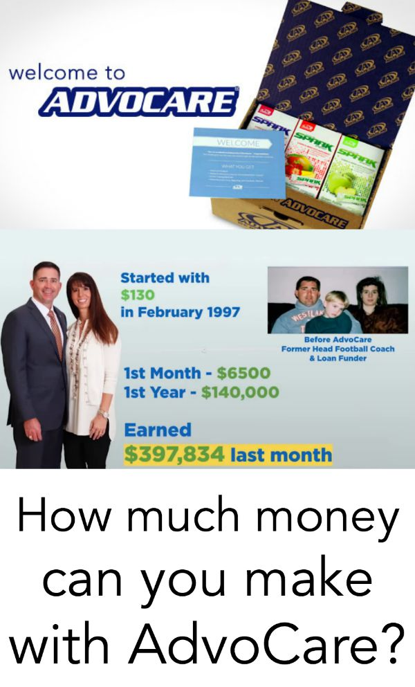 how much money can you make with advocare