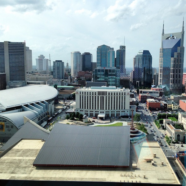 nashville skyline view from omni hotel