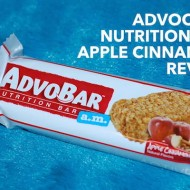 AdvoCare Nutrition Bar Apple Cinnamon Flavor Review