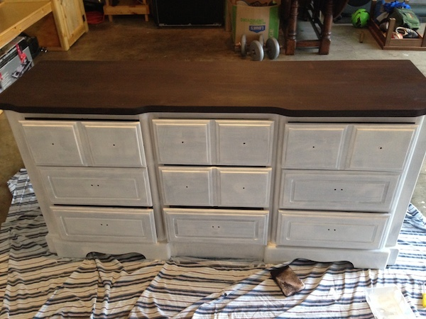 DIY White Painted Dresser A Merry Life