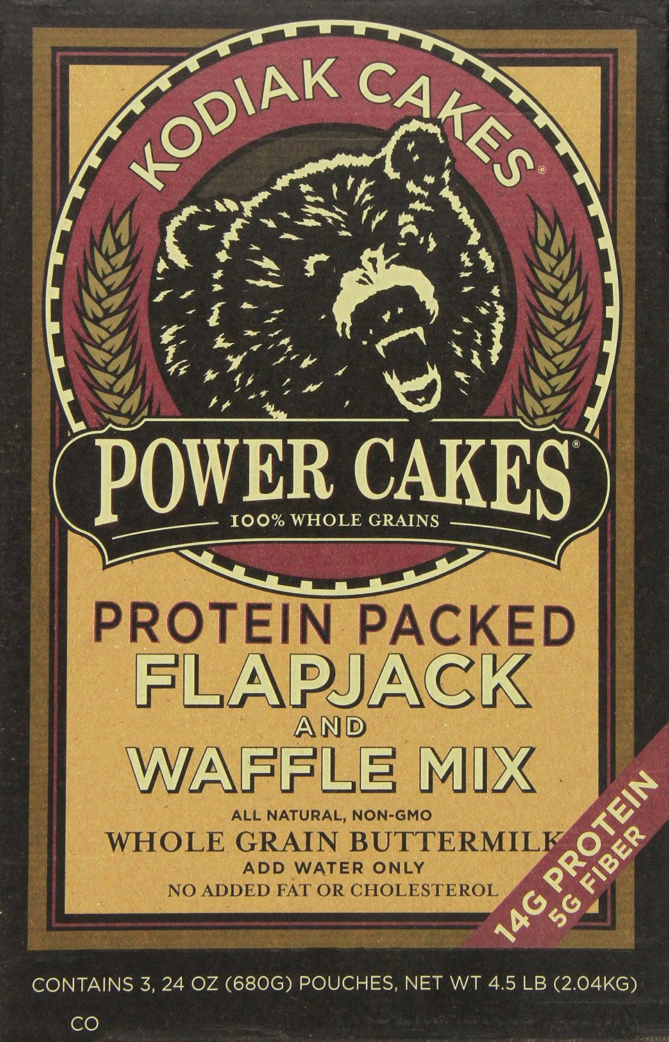 Protien In Cake Mix