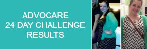 amerrylife advocare 24 day challenge results