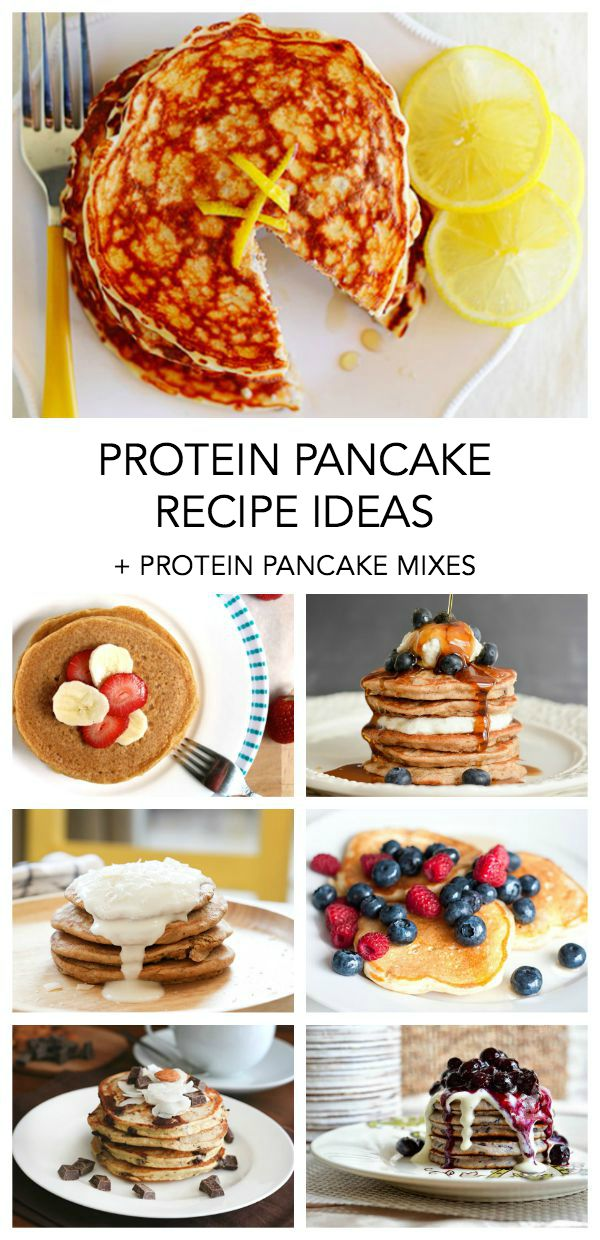 protein pancakes and protein pancake mixes