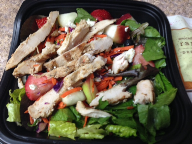 chick fil a grilled chicken market salad