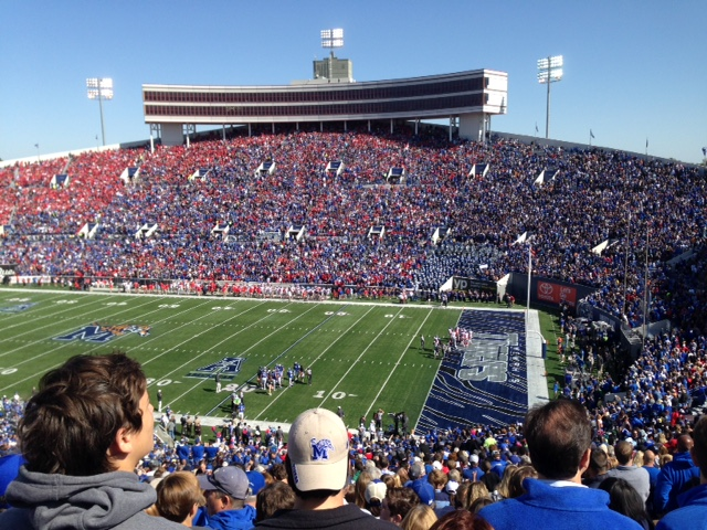 memphis tigers vs ole miss rebels football game