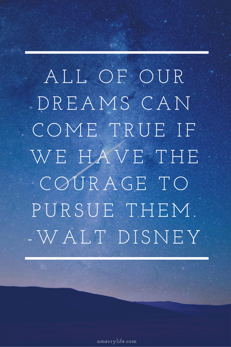 motivational quote by walt disney - amerrylife.com