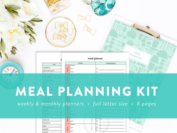 Meal : Menu Planning Kit