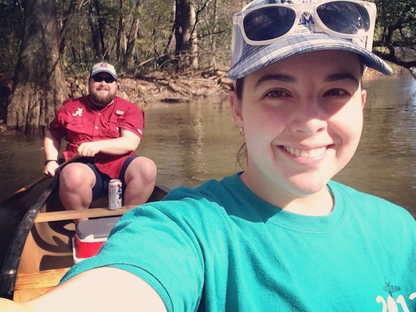 canoeing on the wolf river