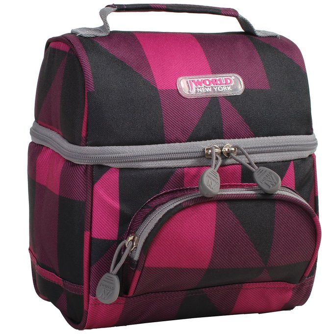 cool lunch box for adults - J World New York Corey Lunch Bag