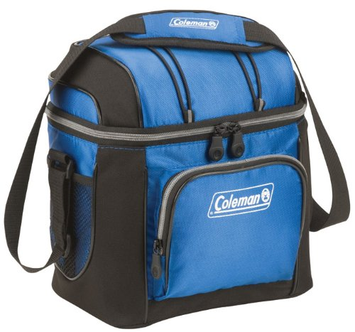 cool lunchbox for men - Coleman 9-Can Soft Cooler With Hard Liner