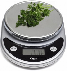 kitchen scale for measuring food