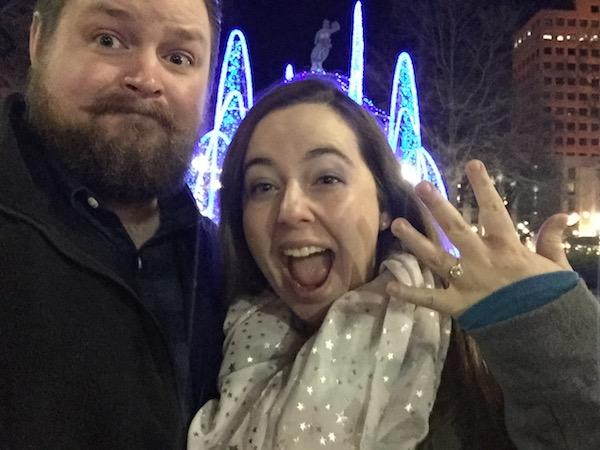 new years engagement