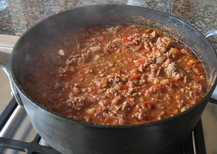 Chili the lower fat way!