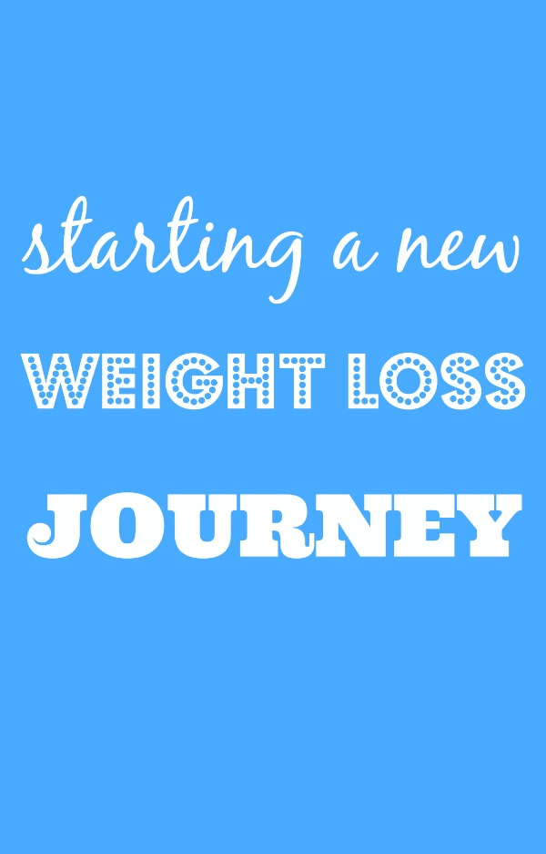starting a new weight loss journey