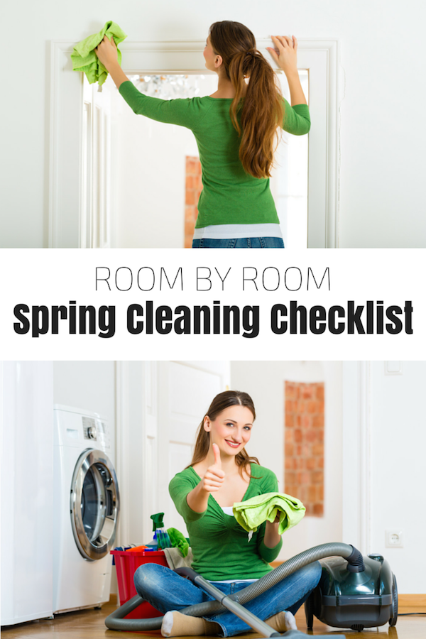 Complete Spring Cleaning Checklist