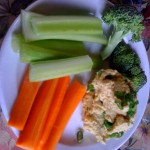 Snack Wed 923 Veggies and Hummus