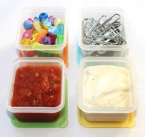 easy lunchboxes mini dippers use