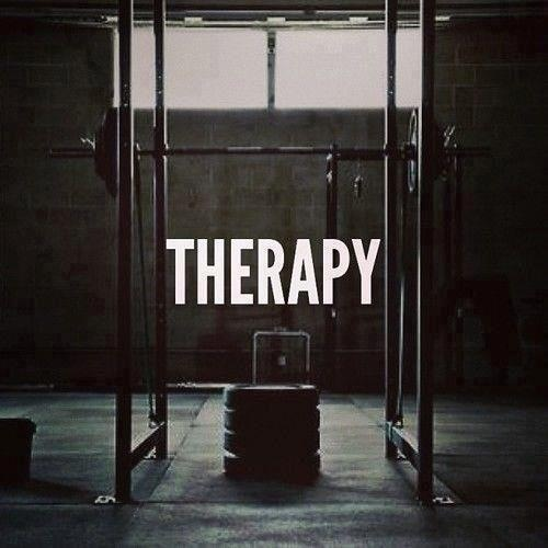 squat rack therapy