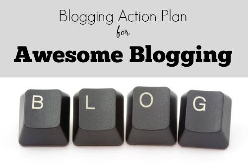 blogging action plan