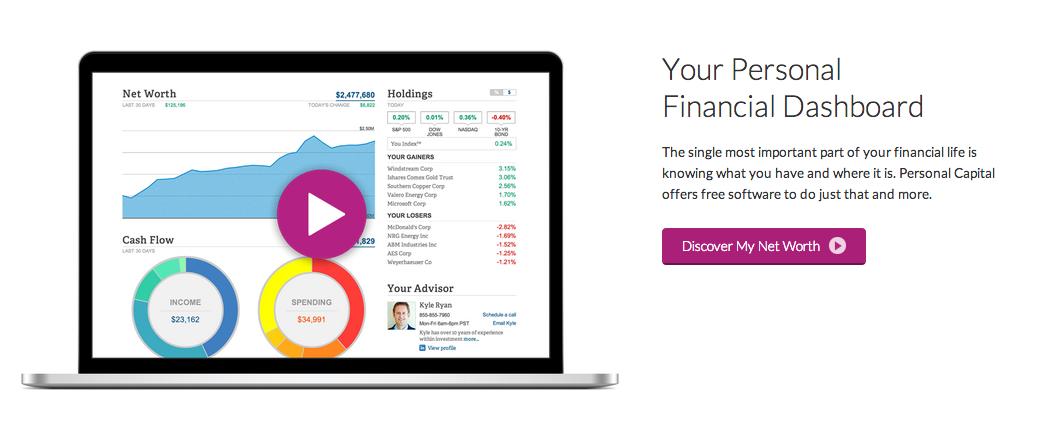 financial health tools personal capital financial software