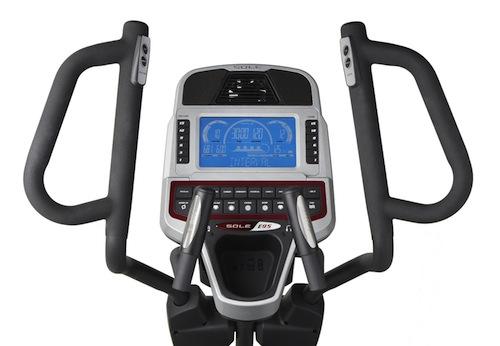 Sole Fitness E95 Elliptical Machine display