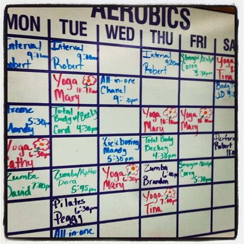 kickboxing class and schedule
