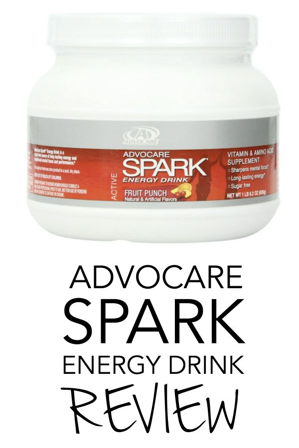 Advocare Spark (Fruit Punch) Review | A Merry Life