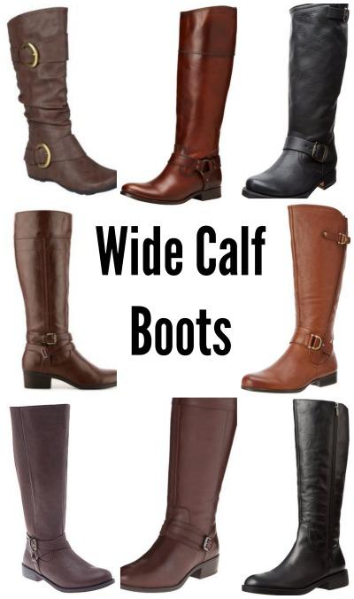 wide calf boot options