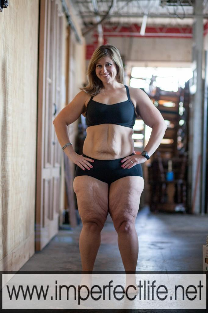 andrea imperfect life body after weight loss