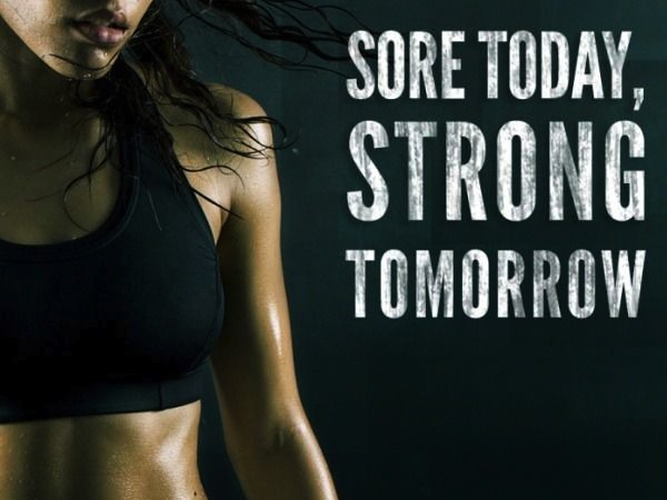 Fitness Motivation Quote   Strong Tomorrow
