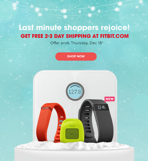 free shipping for fitbit
