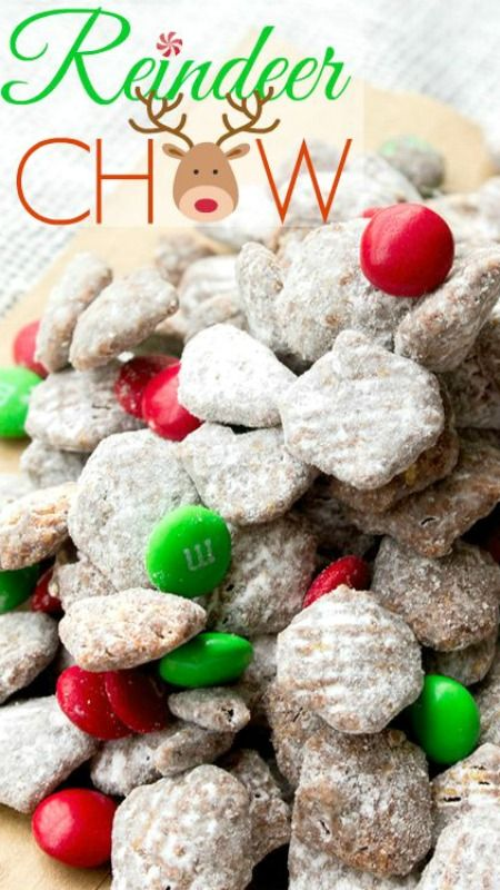 My 3 favorite christmas desserts a merry life reindeer chow puppy chow christmas dessert forumfinder Choice Image