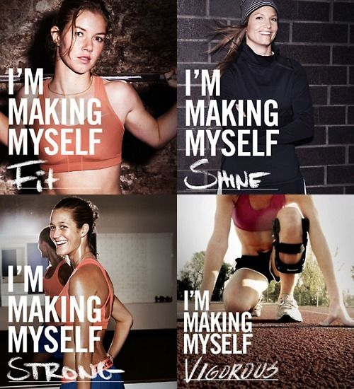 inspiring new years resolutions - im making myself