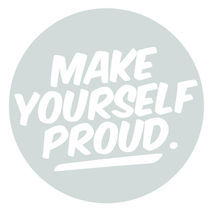 inspiring new years resolutions - make yourself proud