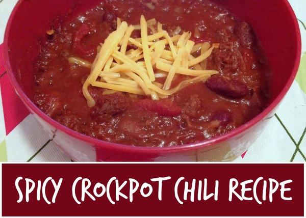 spicy crockpot chili recipe