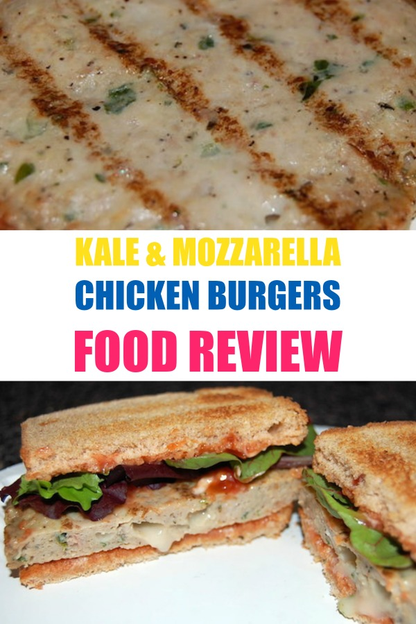 kale and mozzarella chicken burgers food review