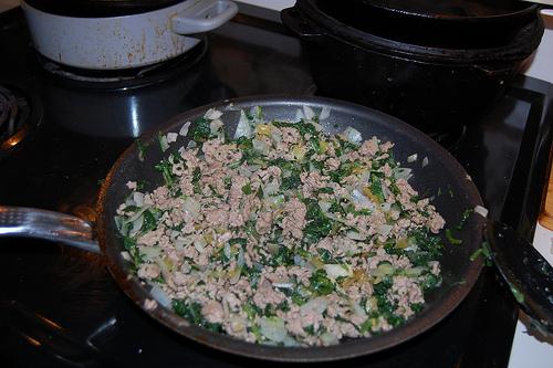 Spinach and Turkey Enchiladas recipe